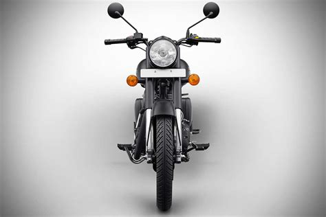 royal enfield classic  stealth black front pr