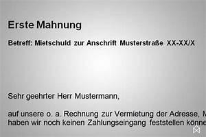 Mahnung Rechnung : mahnung wohnung vorlage gratis downloaden immoankauf ~ Themetempest.com Abrechnung