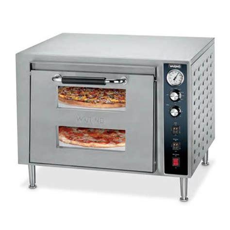 countertop pizza oven waring wpo700 deck electric countertop oven