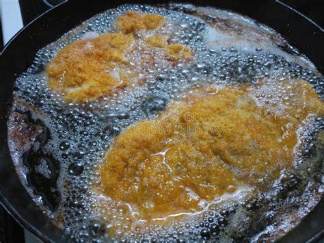 deep pork battered frying fresh iron