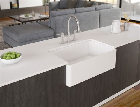 BLANCO CERANA II Apron Front Fireclay Kitchen Sink   Blanco