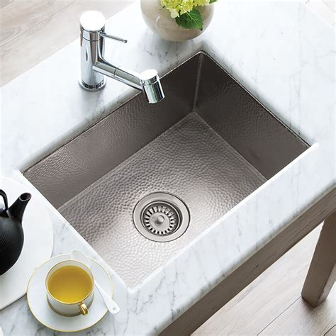 Cocina 21 Brushed Nickel Kitchen Sink Native Trails