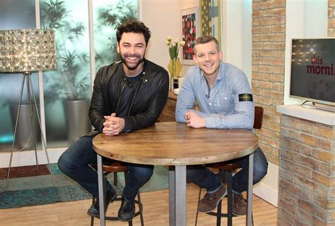 Yay Pic Of Aidanturner And Russelltovey From Itvthis