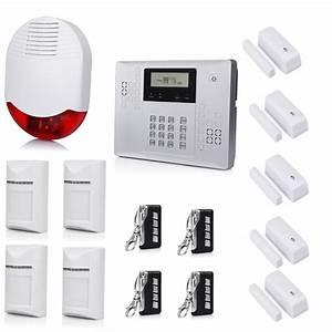Systeme De Securité Maison : alarme maison gsm et syst me d 39 alarme sans fil ~ Dailycaller-alerts.com Idées de Décoration