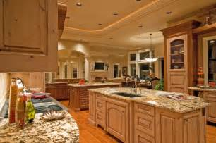 second kitchen island 124 custom luxury kitchen designs part 1
