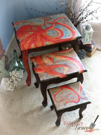 nesting tables   octopus