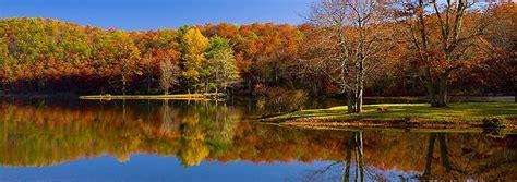 Ben Greenberg Photography Sherando Lake in Fall, Augusta ...