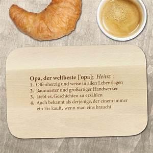 Frühstücksbrett Mit Foto : fr hst cksbrett mit gravur definition weltbester opa motiv ~ Sanjose-hotels-ca.com Haus und Dekorationen