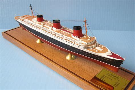 Normandie Ocean Liner Models 1900 Scale Scherbak Ship Models