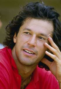 Pakistani Legend Imran Khan As A Cricketer : Wallpapers ...