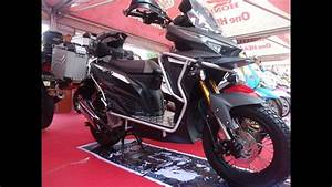 Custom Motor Vario 150 Full Modifikasi Touring Style