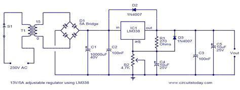 Adjustable Regulator Using Electronic