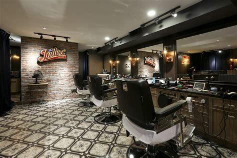 contemporary home interior design ideas gentleman 39 s nook this retro vintage barbershop is