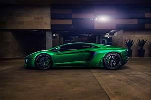 Wallpaper Lamborghini Aventador, Green, 2016, Automotive ...