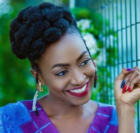 actress kate henshaw actress kate henshaw shows off her stylish natural hair