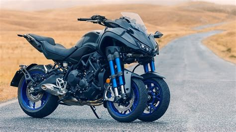 Yamaha Niken by Yamaha Niken Three Wheeled Motorcycle Unveiled At 2017