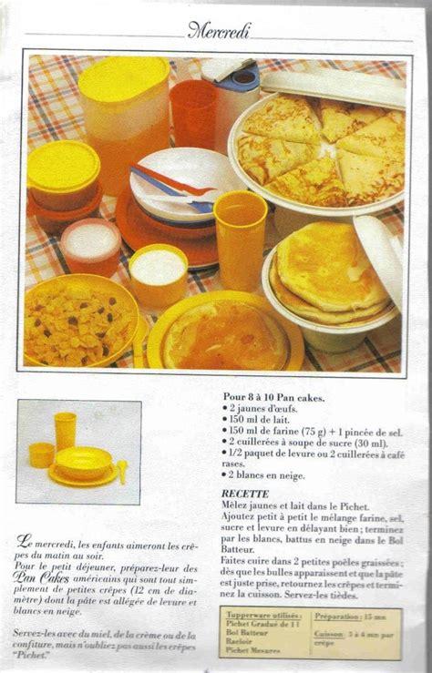 recette de cuisine tupperware livre recettes crêpes tupperware