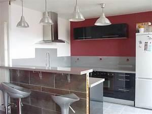 bar separation cuisine salon 5 id233e d233co cuisine With bar separation cuisine salon