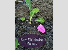 Mama By Fire Easy DIY Garden Markers Mama By Fire