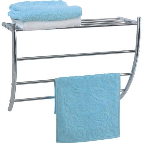 evideco wall mounted bath shelf  towel rack reviews