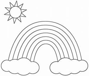 Regenbogen Zum Ausmalen : vorlagen zum ausdrucken ausmalbilder regenbogen malvorlagen 2 ~ Buech-reservation.com Haus und Dekorationen