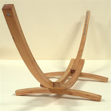 Hammock And Wooden Stand by Caribbean Hammocks Wood Arc Hammock Stand Hammock Stands