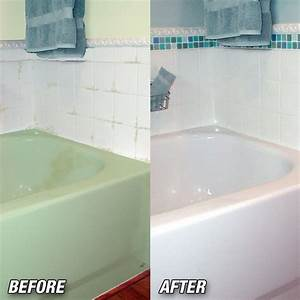 Simple tips resurface bathtub from theydesign theydesign for Cleaning bathroom walls before painting