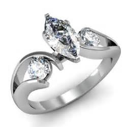 marquise cut engagement ring marquise cut 3 three swirl engagement ring engagement rings review