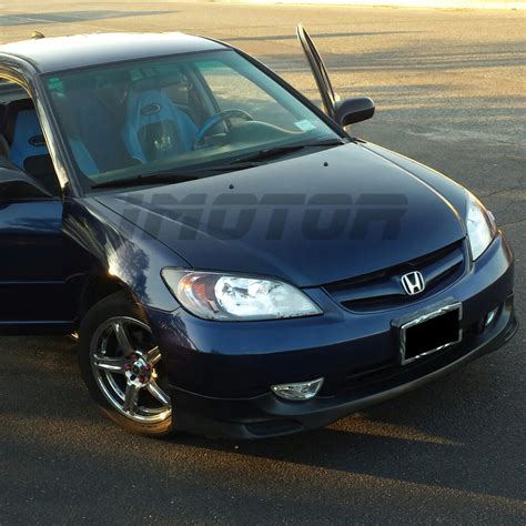 All Honda Civic Si Models by 2004 2005 Honda Civic Sedan Coupe All Models Factory Style
