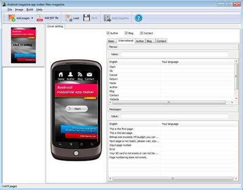 android app builder is there software can convert pdf to flipping android