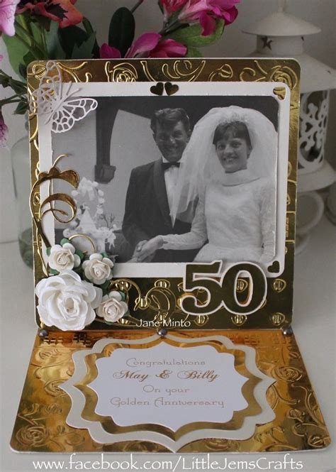 1000 ideas about 50th anniversary cards on
