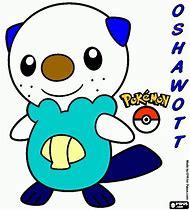 pokemon oshawott coloring pages