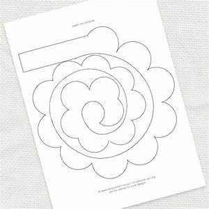 17 best images about flowers on pinterest flower With rolled paper roses template