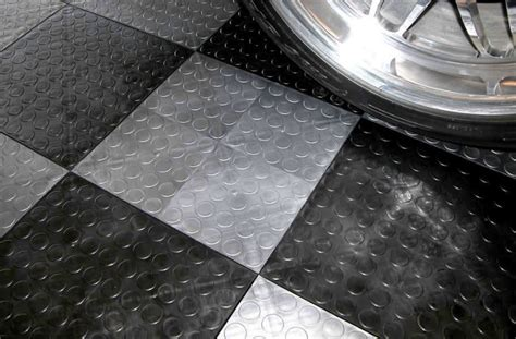 reducing the noise of interlocking floor tiles all