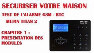 Test Alarme Maison : test alarme meian titan 2 gsm securiser votre maison ou ~ Premium-room.com Idées de Décoration