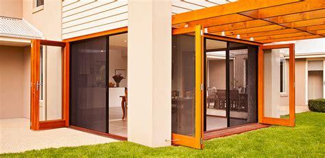 retractable fly screens french doors bi fold doors