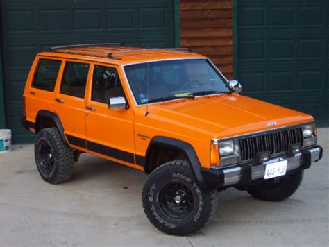 jeep cherokee orange going desert tan again jeep cherokee forum