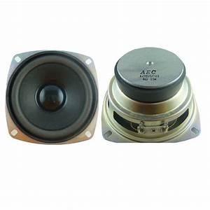 Wholesale 4inch Square Speaker 105mm 15w 4 Ohm Mini ...
