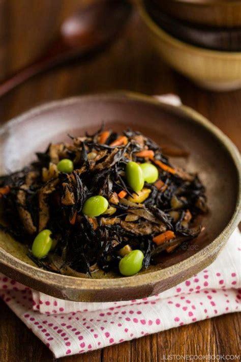 hijiki seaweed salad   cookbook