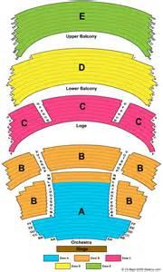 Schuster Center Seating Chart