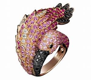 Bijoux Flamant Rose : bague flamant rose boucheron joaillerie 2011 made in ~ Teatrodelosmanantiales.com Idées de Décoration