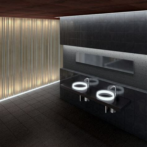 futuristic bathroom sinks abode