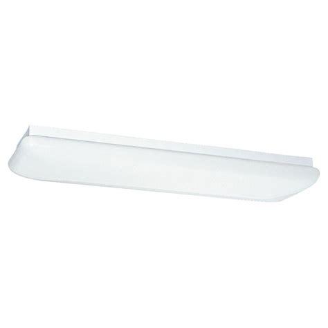 sea gull lighting 2 light white fluorescent ceiling
