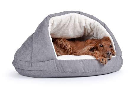 hundehoehle hundebett kuschelhoehle fuer hunde shell dogbed