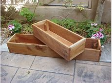 DIY Wood Planter Boxes For Indoor Or Outdoor Garden House