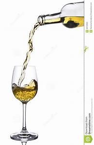 White Wine Pouring Stock Photo - Image: 40723920
