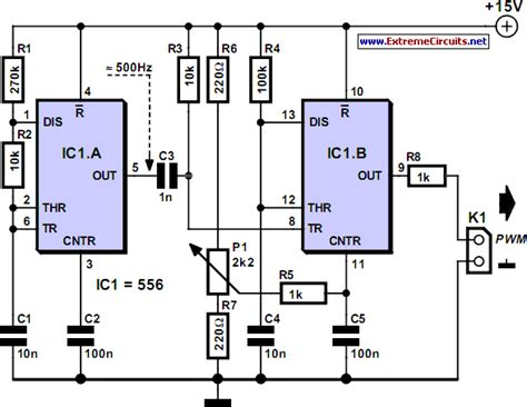 Pwm Modulator Circuit Diagram