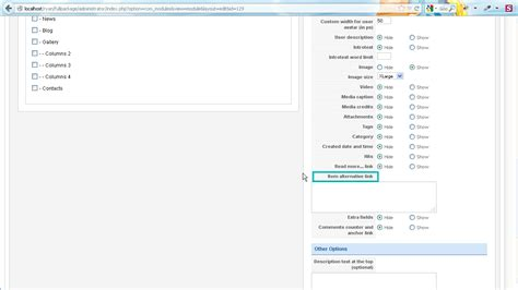 Cant Assing Template by Joomla How To Assign Links In Camera Slideshow Module