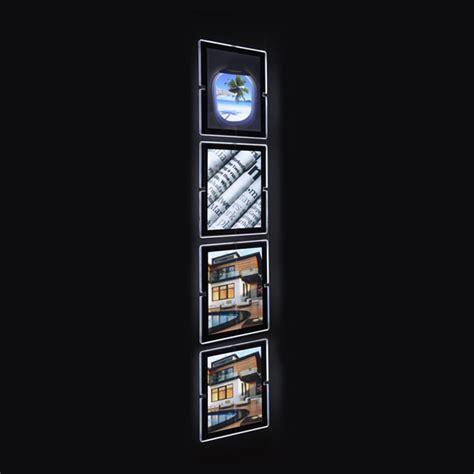 quadri illuminati sistema di quadri retroilluminati a led a vetrina 4xa4