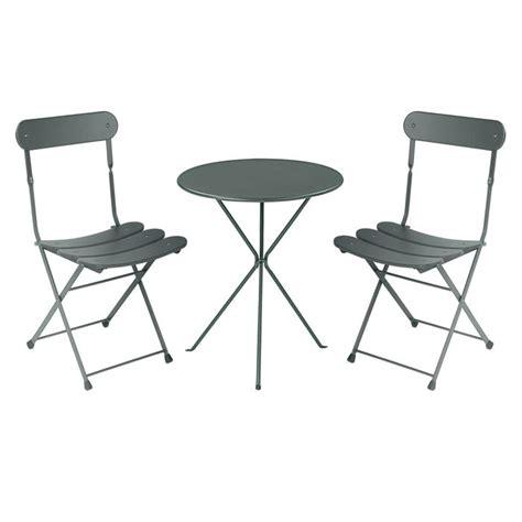 ensemble table et chaise de jardin pas cher table et 2 chaises de jardin pas cher l 39 univers du jardin
